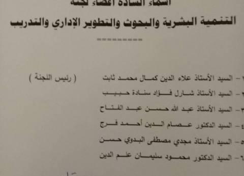 """""""الوطنية للصحافة"""" تشكل لجنة التدريب برئاسة علاء ثابت"""