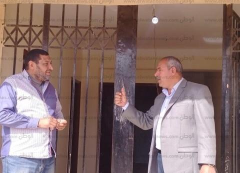 رئيس مدينة راس سدر يطالب بسرعة الانتهاء من تطوير مركز الشباب
