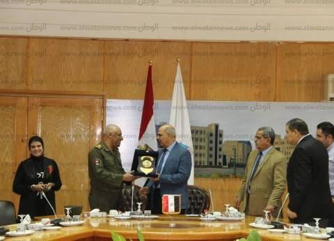 غدا.. جامعة كفر الشيخ توقع بروتوكول مع القوات المسلحة