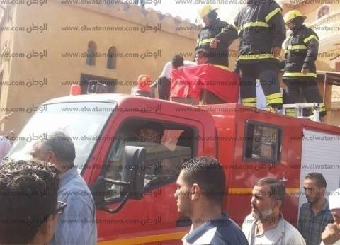 بالصور|  الآلاف من أهالي كفر الشيخ يشيعون جثماني شهيد العريش