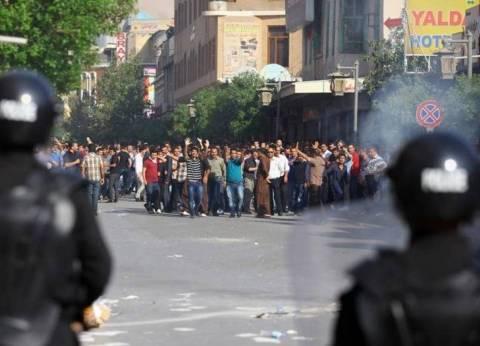 عاجل| الشرطة العراقية تمنع المحتجين في الناصرية من اقتحام منزل المحافظ