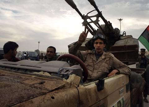 """مصدر بالجيش الليبي لـ""""الوطن"""": هروب ميليشيات الإرهاب المسلحة من طرابلس"""