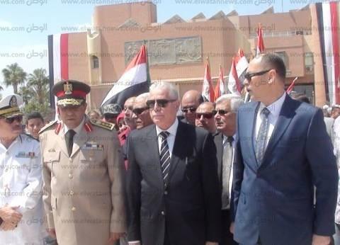 بالصور| محافظ جنوب سيناء: القوات المسلحة تواصل بطولاتها في سيناء