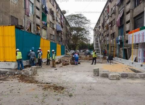 رئيس حي العجوزة يتفقد المحاور البديلة لشارع السودان
