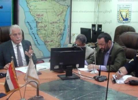 """""""فودة"""" يطالب بالإسراع في إجراءات تأمين الوافدين إلى جنوب سيناء"""