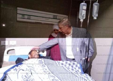 مصاب في تفجير الروضة: ضرب النار اشتغل والإمام بيقول الله على كل معتدي