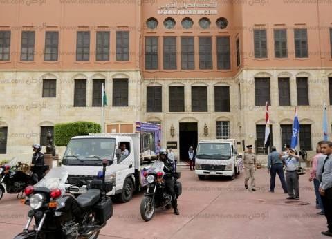 """مدير """"المتحف الكبير"""": القوات المسلحة  وافقت على نقل عجلة توت عنخ آمون"""