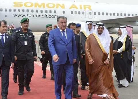 رئيس جمهورية طاجيكستان يصل الرياض للمشاركة بالقمة الإسلامية