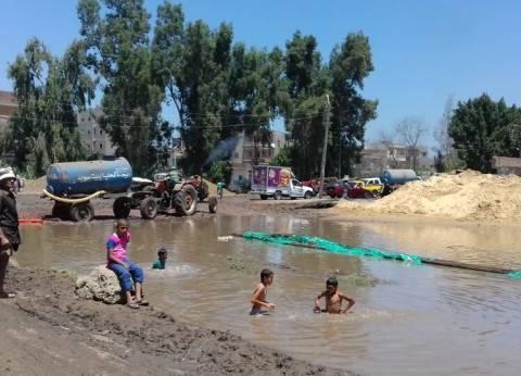 غرامات بآلاف الجنيهات على أهالى «الخارجة» لتعديهم على خطوط المياه