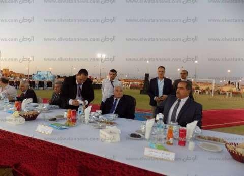 بالصور| 10 آلاف جنيه لجنود قوات الأمن بحفل إفطار محافظ جنوب سيناء