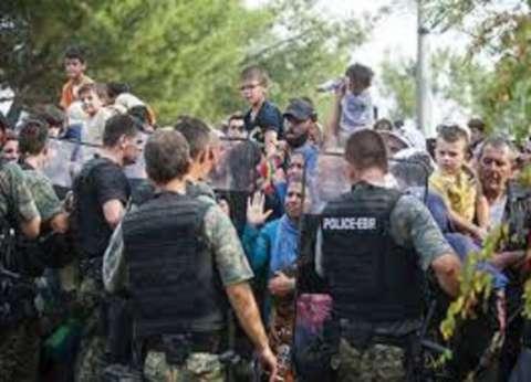 توتر في مخيم للاجئين في بلغاريا وسط احتجاجات المهاجرين