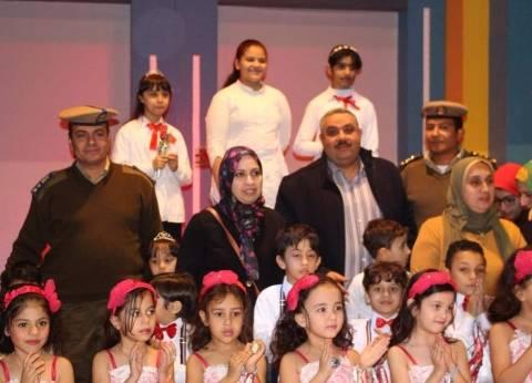 """وفد ممثل عن مديرية أمن دمياط يشارك في فعاليات الاحتفال بـ""""عيد الطفل"""""""