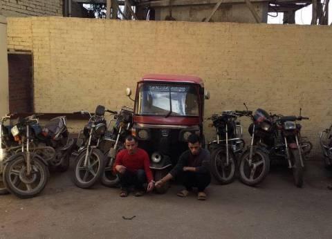 ضبط تشكيل عصابي تخصص في سرقة الدراجات النارية بالإكراه في الغربية