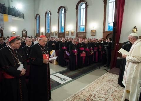 البابا فرانسيس يعرب عن تضامنه وعزائه لمصر في الحادث الإرهابي بالكنيسة البطرسية