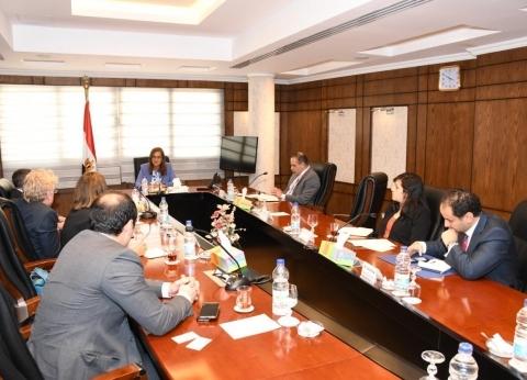 """وزيرة التخطيط تناقش تطورات الاقتصاد المصري مع ممثلي مجموعة """"كيري"""""""