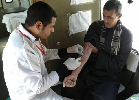 """حملات طبية لفحص مرضى """"فيروس سي"""" بأبوتيج وصدفا والغنايم"""