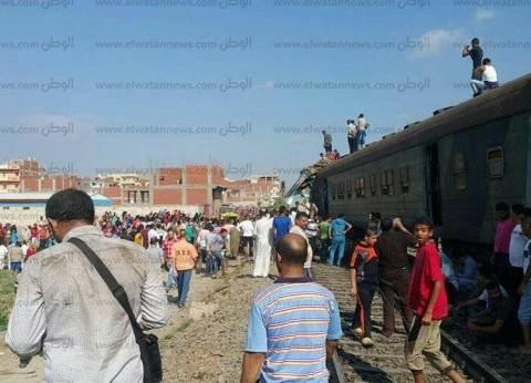 مساعد سائق قطار حادث الإسكندرية: زميلي أغلق جهاز atc وتجاهل التحذيرات