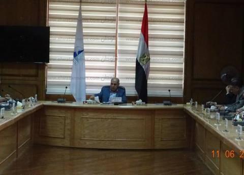 رئيس جامعة كفر الشيخ يشدد على ضرورة الانتهاء من تصحيح الامتحانات
