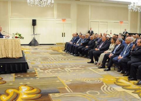 """مؤسس """"صوت مصر"""" يكشف تفاصيل لقاء السيسي بالجالية في واشنطن"""