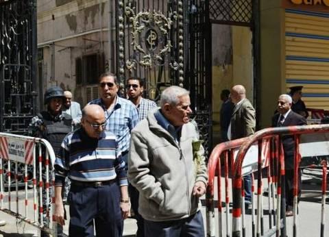 """إجراءات أمنية مشددة بـ""""المرقسية"""" تزامنا مع أعياد القيامة في الإسكندرية"""