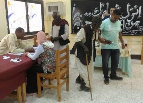 أهالي الشلاتين يواصلون التصويت في انتخابات الرئاسة