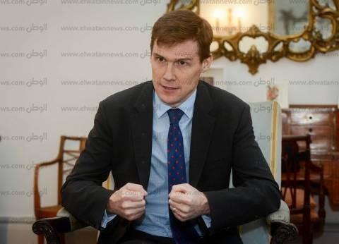 السفير البريطاني يهنئ المصريين بعيد الميلاد: أتمنى السلام للجميع