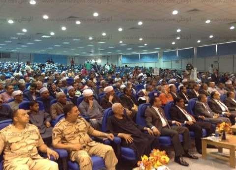 """رئيس جامعة جنوب الوادي يشهد احتفالية جمعية """"المحاربين القدماء"""""""