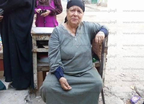 """انهار منزلها منذ 7 أشهر فأدلت بصوتها: """"عشان البلد تستقر وألاقي سكن"""""""