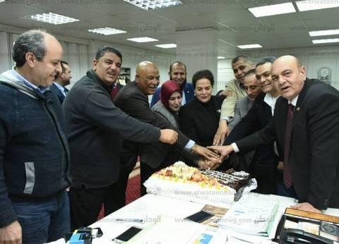 نواب البحيرة يحتفلون بمرور عام على تولي نادية عبده منصب المحافظ