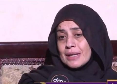 """والدة الشهيد إسلام مشهور عن القبض على عشماوي: """"قلبي ارتاح"""""""