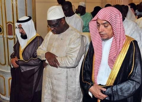 رئيس جمهورية السنغال يزور المسجد النبوي
