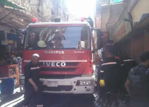 """السيطرة على حريق نشب بمخزن تابع لـ""""المصل واللقاح"""" في العجوزة"""