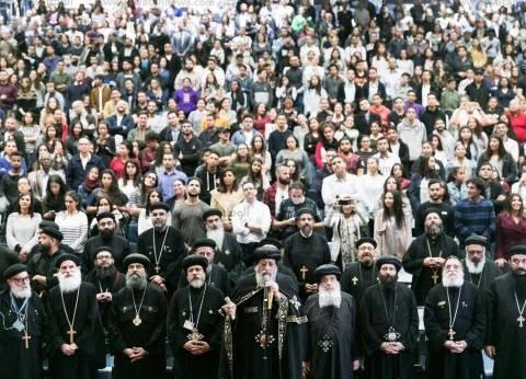 بالمؤتمرات.. الكنيسة تجذب الشباب القبطي حول العالم إلى أحضانها