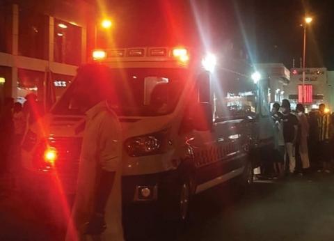 فيديو.. إصابة 11 شخصاً في حريق بسوق تجاري بأبو عريش في السعودية