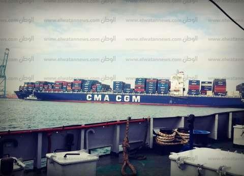 22 سفينة بالمخطاف الخارجي لميناء دمياط في انتظار الدخول