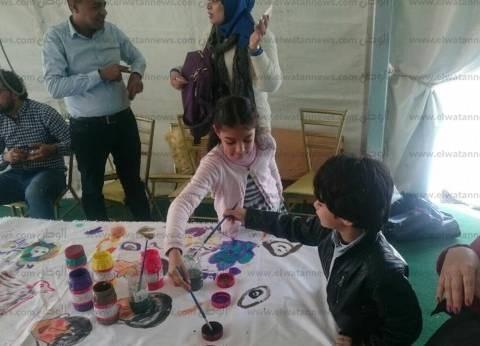 """""""رسم على زجاج وأورجامي وبلياتشو"""".. فعاليات الأطفال في معرض الكتاب غدا"""