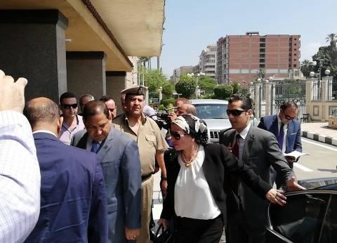 بالصور| وزيرة البيئة في أول زيارة لها لمحافظة الغربية