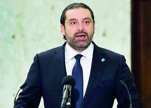 سعد الحريري: السيسي وقف بجانب لبنان.. ونعول عليه كثيرا
