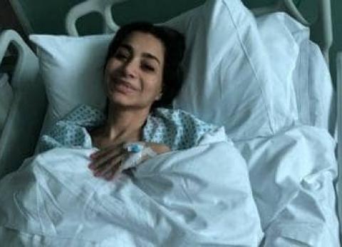 بسمة وهبة في مستشفى بأمريكا لإجراء جراحة حرجة
