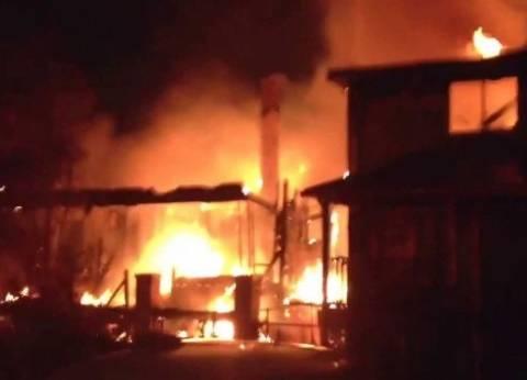 اندلاع حريق محدود ببرج مجاور لمديرية أمن المنيا