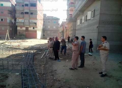محافظ الإسكندرية: حملة إزالة موسعة لإزالة عقارين مخالفين بالكامل