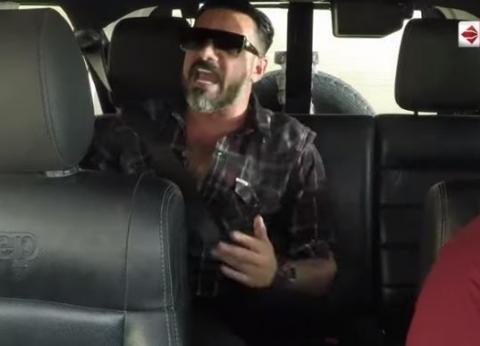 """بالفيديو  محمد رجب ثاني ضحايا """"رمزي"""" في مقلب """"هاني في الألغام"""""""