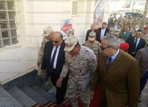 القوات المسلحة والشرطة تتسلمان اللجان استعدادا لتأمين الانتخابات