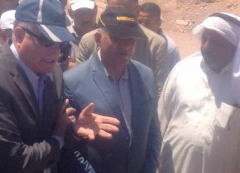 وزير الري في جنوب سيناء لافتتاح مشروعات الحماية من أخطار السيول
