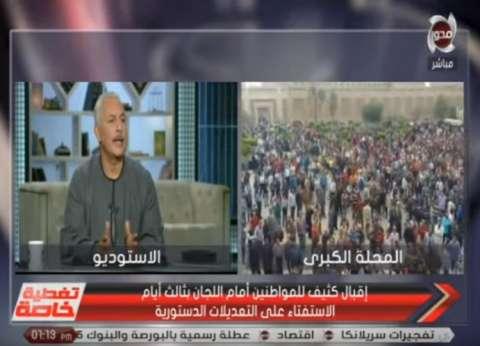 """أبوصدام: السيسي معجزة العصر.. """"مش هنجيب زيه كل 4 سنين"""""""