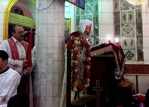 بالصور| بدء قداس عيد الميلاد المجيد بكنائس كفر الشيخ بحضور المحافظ