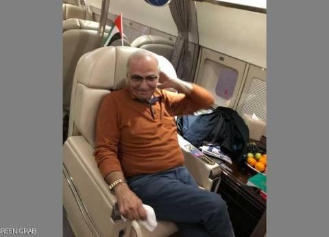 """""""سكاي نيوز"""" تنشر صورة """"شفيق"""" على متن طائرة عودته إلى القاهرة"""