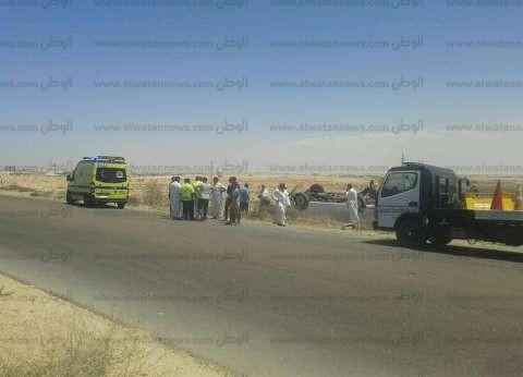 إصابة 7 أشخاص من أسرة واحدة في حادث تصادم غرب الإسكندرية