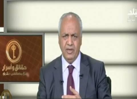 مصطفى بكري: ما يحدث في فلسطين دفاع عن الأمة العربية
