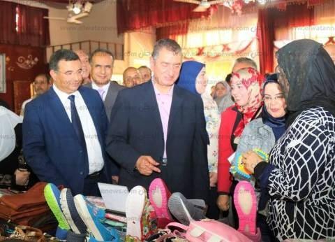 """محافظ كفر الشيخ يدعو شباب دسوق لزيارة معرض """"مشروعك"""""""